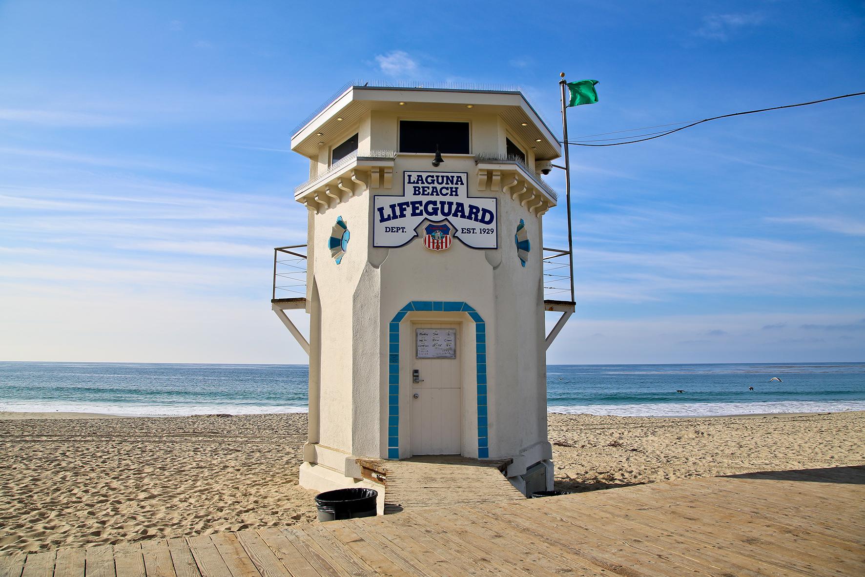Lifeguard Tower Laguna Beach Indy Directory