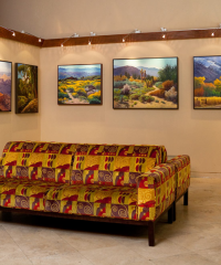 The Group of Four at The Lobby Gallery at Hotel Laguna